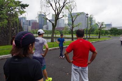 ランナーの理想的な走り方指導