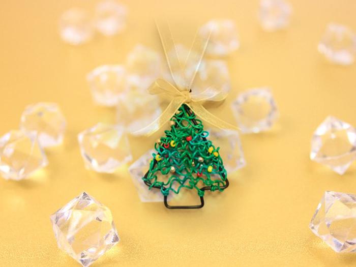【受付終了しました】親子で子供ビーズアクセサリー ~クリスマスツリーのペンダント~