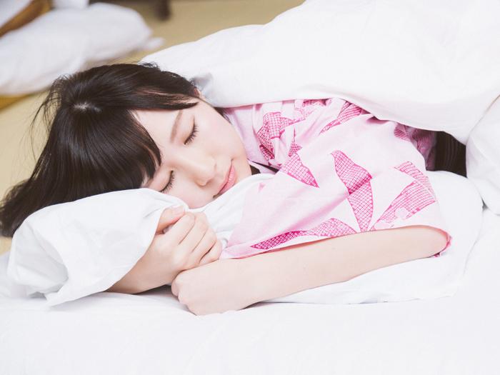 冬の朝の二度寝がストレスを和らげる