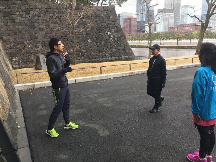 【イベントレポート】皇居ラン&ランナーのためのストレッチ ~無理なく走るためのランニングフォーム~