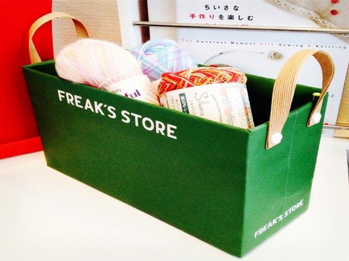 お気に入りショップ袋をオシャレな●●に!簡単リメイク術♪