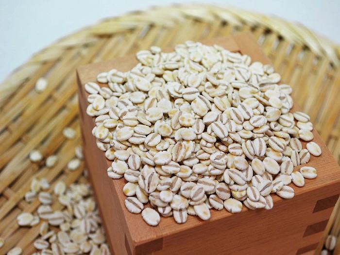 """美容、健康、ダイエットに""""押し麦""""。"""